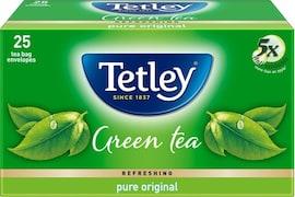 Tetley Refreshing Pure Original Green Tea (50GM, 25 Pieces)