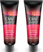 Olay Regenerist Advanced Anti-Ageing Revitalising Cream Cleanser (200GM, Pack of 2)