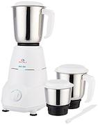 Bajaj Rex 500W Mixer Grinder (White, 3 Jar)