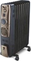 Bajaj RH-11F Plus Oil Filled Room Heater (Black)