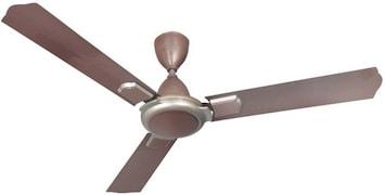 Qualx Rio Bronze Ceiling Fan (Brown)