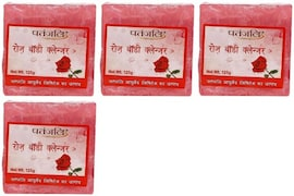Patanjali Rose Body Cleanser (125GM, Pack of 4)