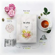 Te.Cha Rose Oolong Tea (82GM, 16 Pieces)