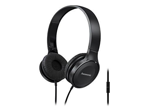 Panasonic RP-HF100M Wired Headphone (Black)