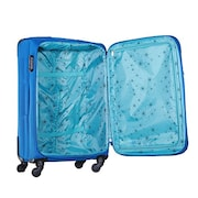 Safari Rush Trolley Luggage (31 Inch, Blue)