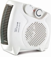 Bajaj RX10 Fan Room Heater (White)