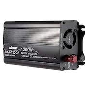 Soolar SAA-1200A Solar Power Inverter (Black)
