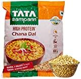 Tata SampannHigh Protein Channa Dal (Yellow, 500GM)