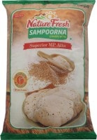 Nature Fresh Sampoorna Chakki Wheat Flour (10KG)
