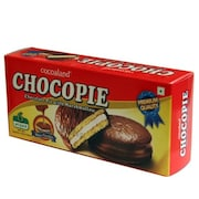 Cocoaland Sandwich Biscuits (Chocopie, 150GM, Pack of 2)