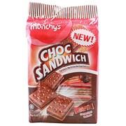 Munchys Sandwich Cracker Biscuits (Choco, 300GM)