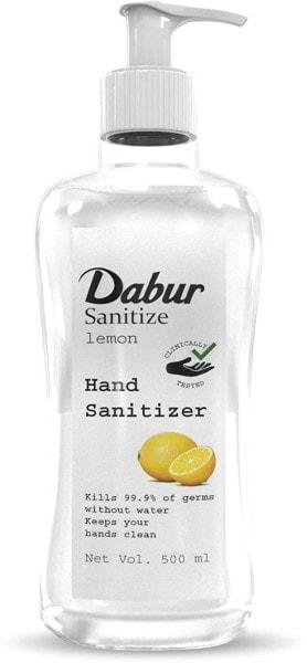 Dabur Sanitize Lemon Hand Sanitizer (500ML)