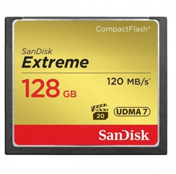 SanDisk 128GB SD Extreme Memory Card (120MB/s)