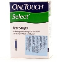 OneTouch Select Glucometer Strips (50 Strips)
