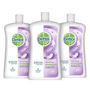 Dettol Sensitive Liquid Soap Jar (900ML, Pack of 3)