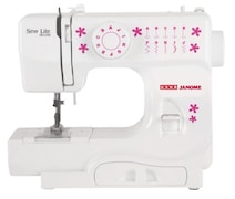 Usha Sew Lite Deluxe Electric Sewing Machine (White)