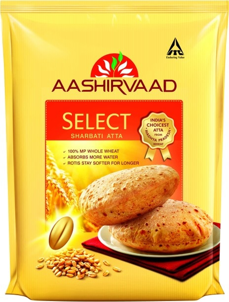 Aashirvaad Sharbati Select Wheat Flour (5KG)