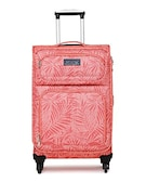 Tommy Hilfiger Sharon Soft Sided Suitcase (Red, Medium)