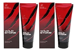 Wild Stone Shaving Cream Ultra Sensual (Pack of 2)