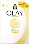 Olay Shea Butter Bar Soap (350GM, Pack of 4)