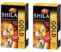 Dabur Shilajit Gold Capsules (40 Capsules)