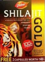 Dabur Shilajit Gold Capsules (10 Capsules)