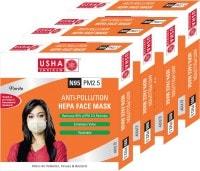 Usha Shriram Dust Protection Anti Pollution Mask (Pack of 4)