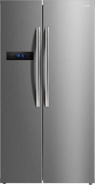 Panasonic 527 L Frost Free Side by Side Refrigerator (NRBS60MSX1, Stainless Steel)