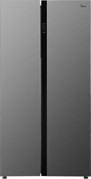 Midea 584 L Frost Free Side by Side Refrigerator (MRFS5920SSLF, Silver)