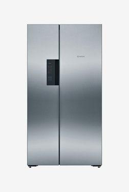Bosch 604 L Frost Free Side by Side 5 Star Refrigerator (KAN92VI35, Inox)