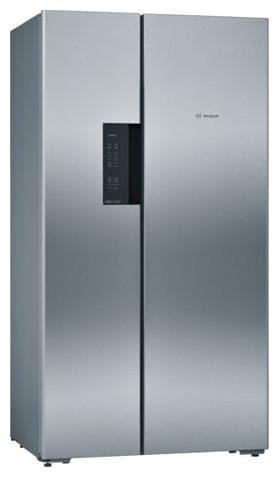 Bosch 658 L Frost Free Side by Side 5 Star Refrigerator (KAN92VI35I, Inox Easy Clean)