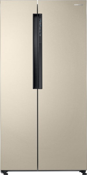 Samsung 674 L Frost Free Side by Side 5 Star Refrigerator (RS62K6007FG, Starry Gold)