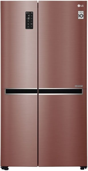 LG 687 L Direct Cool Side by Side Refrigerator (GC B247SVZV)