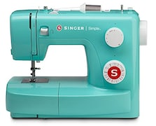 Singer Simple 3223 Automatic Sewing Machine (Green)