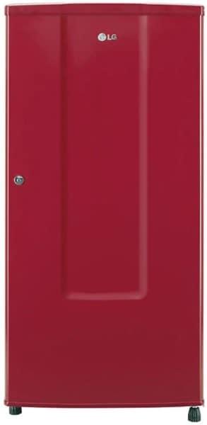 LG 185 L Direct Cool Single Door 2 Star Refrigerator (GL B181RPRC, Peppy Red)