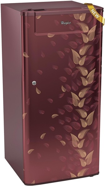 Whirlpool 190 L Direct Cool Single Door 3 Star Refrigerator (205 GENIUS CLS, Wine Fiesta)