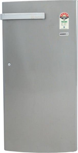 Electrolux 190 L Direct Cool Single Door 3 Star Refrigerator (EN205PTSV, Silver)