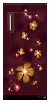 Whirlpool 190 L Direct Cool Single Door 3 Star Refrigerator (IceMagic Powercool, Sapphire Primrose)
