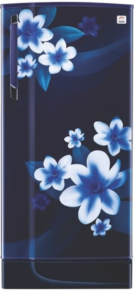 Godrej 190 L Direct Cool Single Door 2 Star Refrigerator (RD EDGE 215B 23 TAF PP BL, Pep Blue)