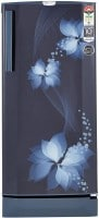 Godrej 190 L Direct Cool Single Door 5 Star Refrigerator (RD EDGE PRO 205 TAI 5.2, Breeze Blue)