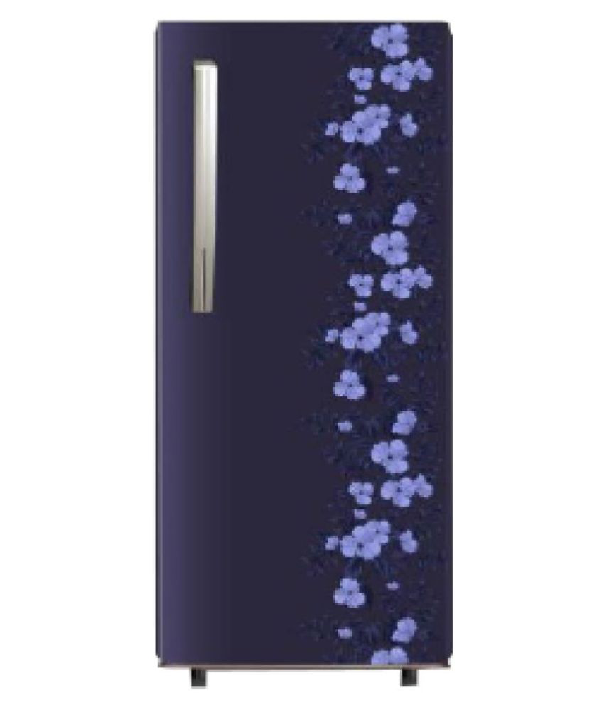 Panasonic 202 L Direct Cool Single Door 4 Star Refrigerator (NRAC20SAX1, Blue Floral)