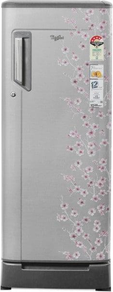 Whirlpool 215 L Direct Cool Single Door 4 Star Refrigerator (230 IMFRESH ROY, Silver Bliss)