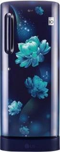 LG 235 L Direct Cool Single Door 4 Star Refrigerator (GL D241ABCY, Blue Charm)