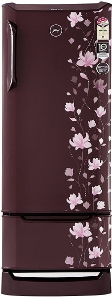 Godrej 255 L Direct Cool Single Door 4 Star Refrigerator (RD EDGE DUO 255 PD INV4.2, Erica Wine)