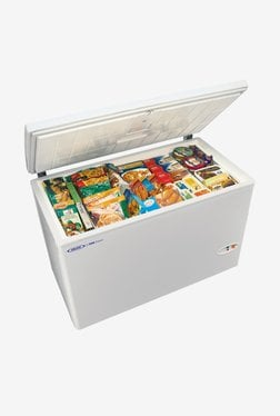 Voltas 320 L Direct Cool Single Door Refrigerator (CHEST FREEZER, White)