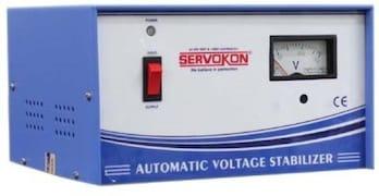 Servokon SK500-140 Automatic Voltage Stabilizer (Blue & White)