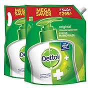 Dettol Skin Care Liquid Hand Wash (1.5LTR, Pack of 2)