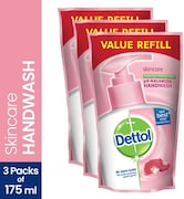 Dettol Skin Care Liquid Hand Wash Refill (350ML, Pack of 2)