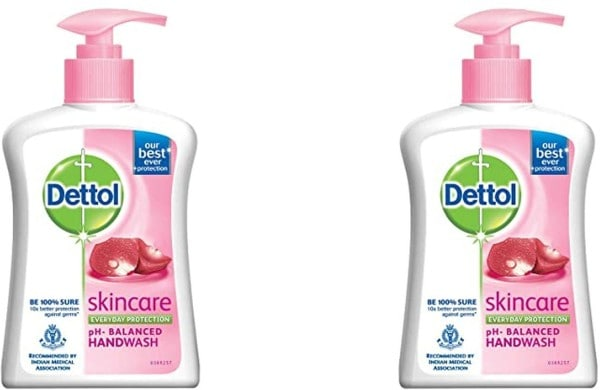 Dettol Skin Care Liquid Hand Wash (200ML, Pack of 2)