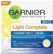 Garnier Skin Naturals Light Complete Night Cream (40GM)